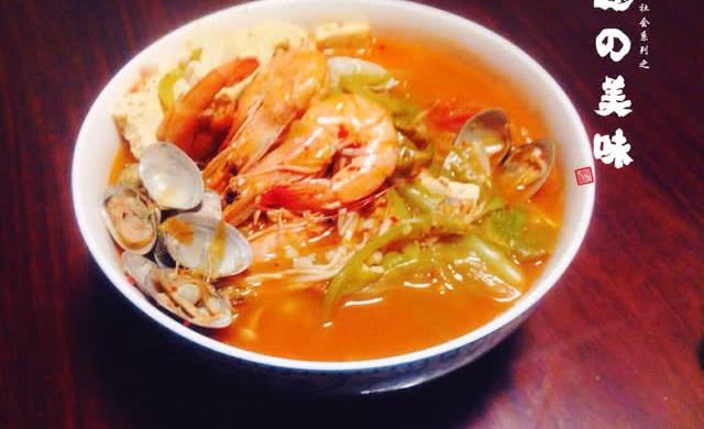 韩国海鲜汤