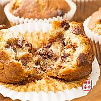 【曼步厨房】巧克力香蕉马芬蛋糕的做法图解2