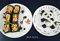 翠竹熊猫饭的做法
