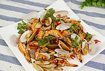 大虾烤花蛤的做法的做法