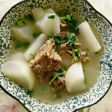 排骨白萝卜汤