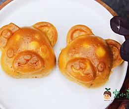 宝宝辅食:小熊彩蔬鸡蛋糕的做法
