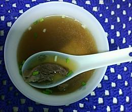 猪心暖身汤的做法