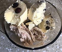 三种口味的网红冰淇淋的做法