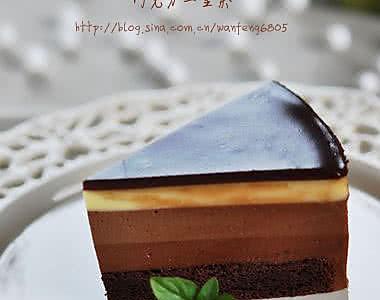 巧克力三重奏的做法
