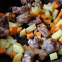 土豆排骨焖饭—周末一个人的快手午餐的做法图解3