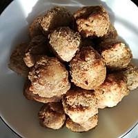 外酥里糯的芋头猪肉丸子(原创)的做法图解11