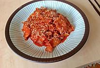 辣炒五花肉的做法