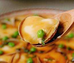 #以美食的名义说爱她#鲜嫩无比的蛤蜊蒸蛋的做法