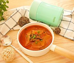 韩式辣牛肉汤(膳魔师焖烧罐版本)的做法