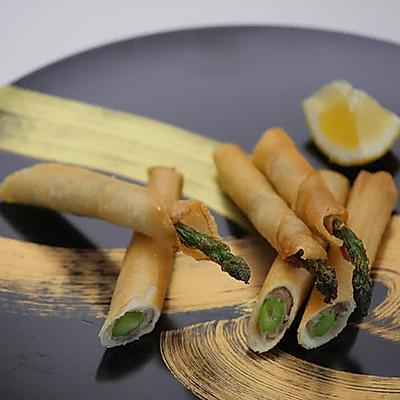 小薇de美食|铅笔春卷