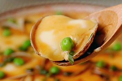 鲜嫩无比的蛤蜊蒸蛋