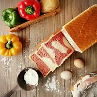 快手吐司——烤棉花糖芒果吐司的做法图解1