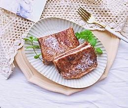爆浆熔岩巧克力三明治的做法