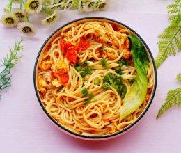 #童年不同样,美食有花样#超好吃的番茄鸡蛋米粉的做法