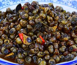 紫苏炒石螺的做法