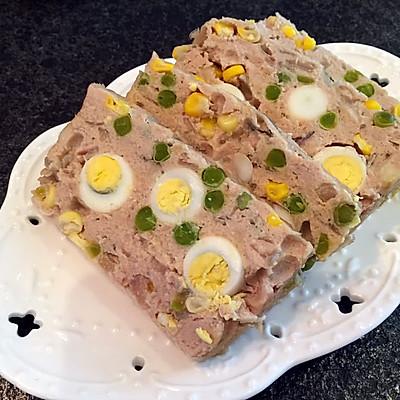 花式午餐肉(鹌鹑蛋肉饼)