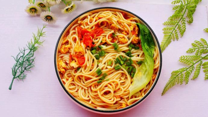 #童年不同樣,美食有花樣#超好吃的番茄雞蛋米粉