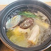 营养鲍鱼鸡汤的做法图解3