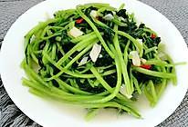 清炒白苋菜的做法