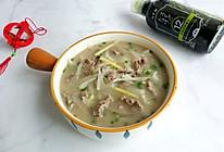 #味达美名厨福气汁,新春添口福#萝卜丝牛肉汤的做法