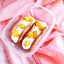 芒果抱抱蛋糕卷