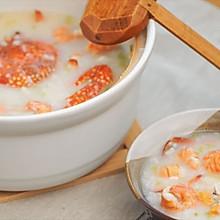 [快厨房]潮汕干贝虾蟹粥砂锅粥