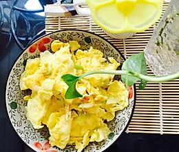 大葱炒鹅蛋的做法