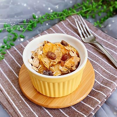 麦片法棍布丁【宝宝最爱早餐】