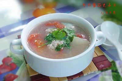 冬瓜番茄丸子汤
