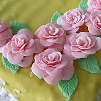 换个方式做翻糖花---翻糖蛋糕(七)---桃花盛开的做法图解57