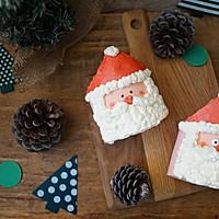 圣诞老人蛋糕卷#蛋糕卷一切#