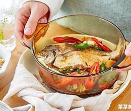 蒜香鲳鱼|紧实香口的做法