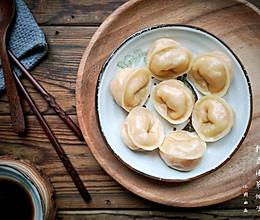 把韩式辣白菜包进饺子——韩式泡菜饺子的做法