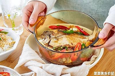 蒜香鲳鱼 紧实香口