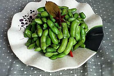 小吃~五香毛豆