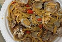 炒海螺的做法