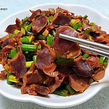 #母亲节,给妈妈做道菜#蒜苔辣炒鸡胗