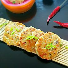 肉沫豆腐饼