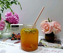 #爱乐甜夏日轻脂甜蜜#低糖茉莉百香果西柚绿茶的做法