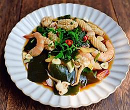 #美食视频挑战赛#捞汁海鲜的做法