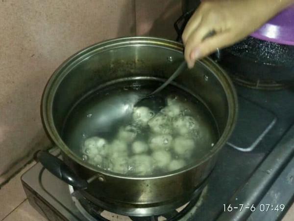 芝麻汤圆的做法