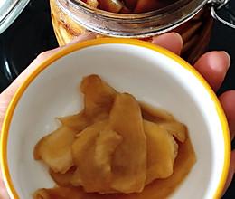 酸甜脆辣的爽口醋泡姜的做法