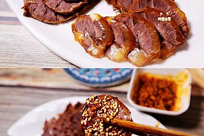 一学就会的家庭式卤牛肉㊙️制五香卤牛腱(高压锅版)超入味