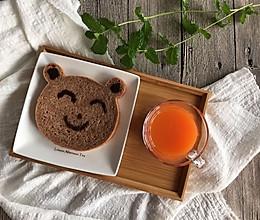 可可味小熊面包的做法