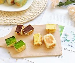 三种口味的仙豆糕【超薄皮】#秋天怎么吃#的做法