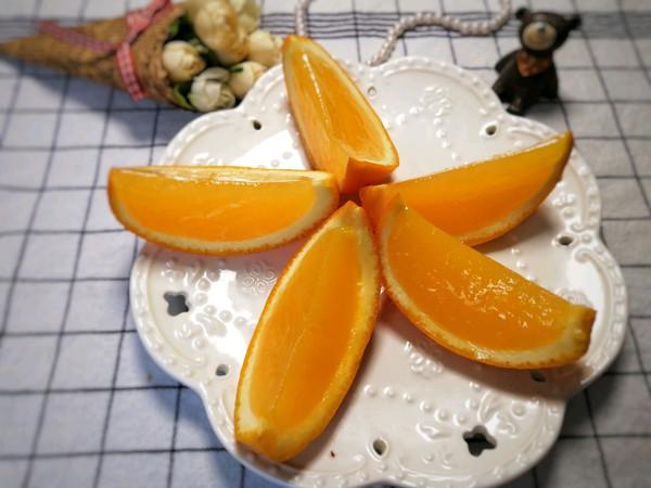 无添加的橙子果冻的做法