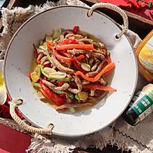 双椒小炒牛肉❤️肉嫩有技巧❗️年夜饭宴客菜