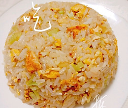 花菜蛋炒饭♥不油不腻孩子爱吃饭的做法