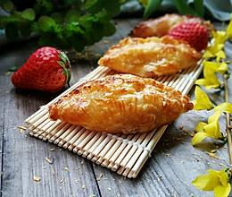 草莓酥(蛋挞皮版)的做法